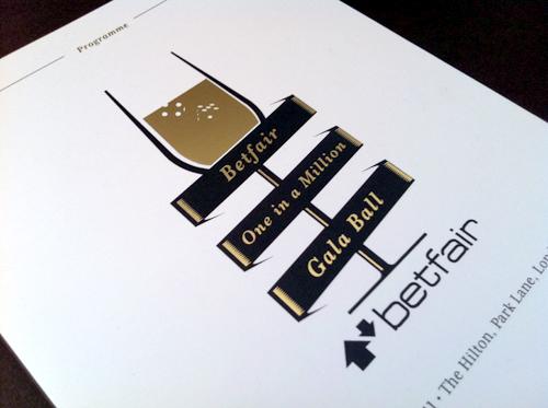 Logo, Gold Foil, Flyers, Programmes